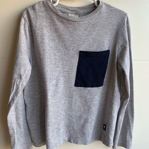 Zara Boys Pocket Long sleeves shirt (size 7)